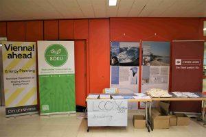 LCOY Austria conference registration with MA20 City of Vienna, Wiener Linien, Klimabündnis and ÖH BOKU